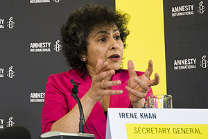 Irene Khan - Amnesty International